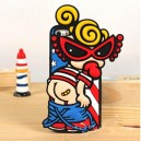 Hysteric Mini silicona iphone4/4S/5/5S samsung note2/note3/S3/S4 cartoon cáscara del teléfono móvil