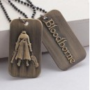 Collar BLOODBORNE PS4 colgante decorado en bronce